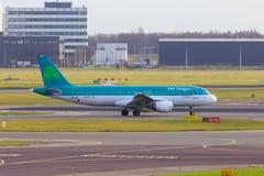 De Luchtbus van lingus van de lucht A320 Stock Foto