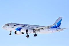 De Luchtbus van Yamalluchtvaartlijnen A320 Stock Afbeelding