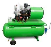 De luchtcompressor van Industril stock afbeeldingen
