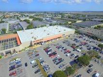 De luchtfoto van Home Depot Stock Foto's