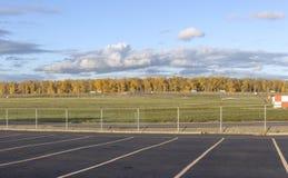 De luchthaven Oregon van Skyviewportland royalty-vrije stock fotografie