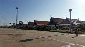 De luchthaven in Siem oogst Kambodja Royalty-vrije Stock Foto