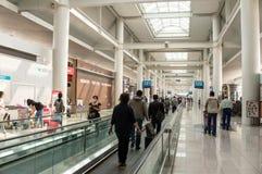 De Luchthaven Travelator van Tokyo Narita Stock Afbeelding