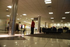De luchthaven van Atlanta royalty-vrije stock foto