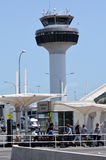 De Luchthaven van Auckland - Nieuw Zeeland Royalty-vrije Stock Foto's