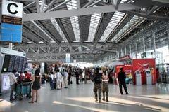 De luchthaven van Bangkok Stock Fotografie