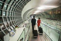 De luchthaven van Bangkok Stock Foto's