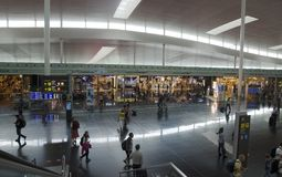 De Luchthaven van Barcelona Stock Fotografie
