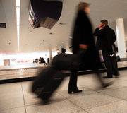 De luchthaven van de reis Stock Afbeeldingen