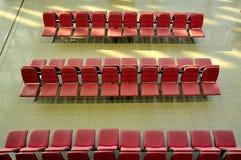 De luchthaven van de stoel, suvarnabhumi Stock Foto