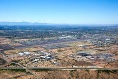 De Luchthaven van de Vallei van herten Stock Afbeelding