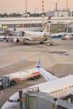 De Luchthaven van Dusseldorf royalty-vrije stock afbeelding