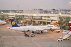 De Luchthaven van Dusseldorf royalty-vrije stock fotografie