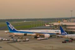 De Luchthaven van Dusseldorf royalty-vrije stock foto