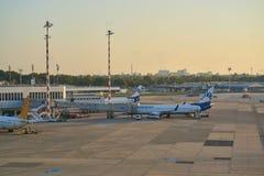 De Luchthaven van Dusseldorf royalty-vrije stock afbeeldingen