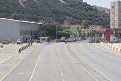 De Luchthaven van Gibraltar Royalty-vrije Stock Foto's
