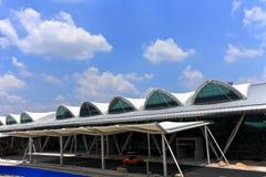 De Luchthaven van GuangZhou, China stock afbeelding