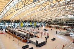 De luchthaven van Hamburg, terminal 1 Stock Foto's