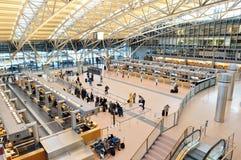 De luchthaven van Hamburg, terminal 2 Stock Foto