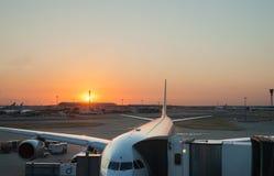 De Luchthaven van Heathrow. Stock Afbeeldingen