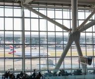 De luchthaven van Heathrow in Londen, terminal 5 Royalty-vrije Stock Afbeelding