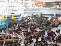 De luchthaven van Heathrow in Londen, terminal 5 Stock Afbeelding