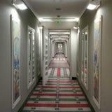 De Luchthaven van Holiday Inn Athene Stock Afbeeldingen