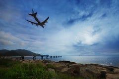 De luchthaven van Hongkong Royalty-vrije Stock Afbeeldingen