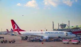 De luchthaven van Istanboel Royalty-vrije Stock Foto's