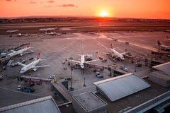 De Luchthaven van Istanboel Ataturk Royalty-vrije Stock Fotografie
