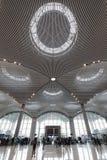 De Luchthaven van Istanboel, de belangrijkste internationale luchthaven die de ingang van Istanboel, Turkije dient royalty-vrije stock fotografie