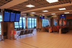 De luchthaven van Katowice Stock Foto's