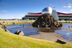 De luchthaven van Keflavik - IJsland Royalty-vrije Stock Fotografie
