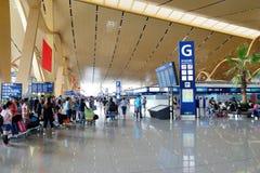 De Luchthaven van KUNMING CHANGSHUI Royalty-vrije Stock Afbeeldingen