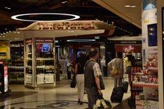 De Luchthaven van Lissabon, Portugal stock foto