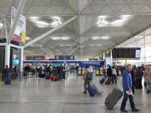 De Luchthaven van Londen Stansted Royalty-vrije Stock Foto's