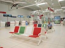 De luchthaven van Lublin, Polen stock foto