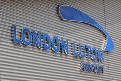 De Luchthaven van Luton. Royalty-vrije Stock Foto