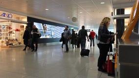 De luchthaven van München stock footage