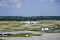 De Luchthaven van München, Beieren, Duitsland Stock Foto