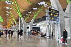 De Luchthaven van Madrid royalty-vrije stock fotografie