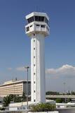 De Luchthaven van Manilla van de Toren van de controle stock foto's