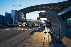 De Luchthaven van Moskou, Sheremetyevo Stock Afbeeldingen
