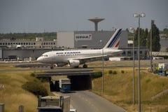De Luchthaven van Parijs Royalty-vrije Stock Foto