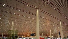 De luchthaven van Peking Stock Foto's