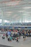 De luchthaven van Peking Stock Foto