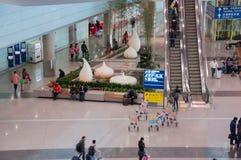 De luchthaven van Peking Royalty-vrije Stock Afbeelding