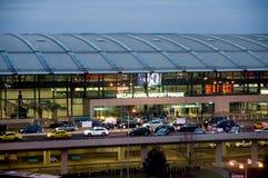 De Luchthaven van Praag Stock Foto's