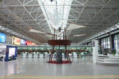 De luchthaven van Rome Fiumicino Stock Fotografie