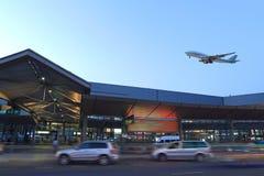 De Luchthaven van Shanghai Hongqiao Stock Fotografie